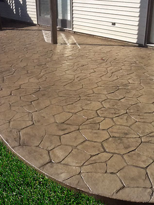 Stamped Concrete patio newburgh ny 12550