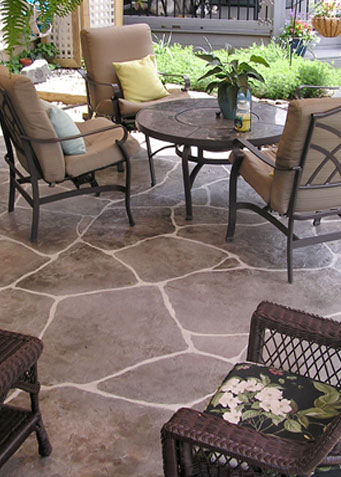 middletown stamped concrete patio